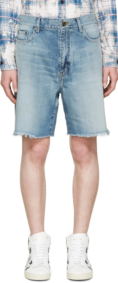 saint_laurent_blue_denim_oversized_shorts