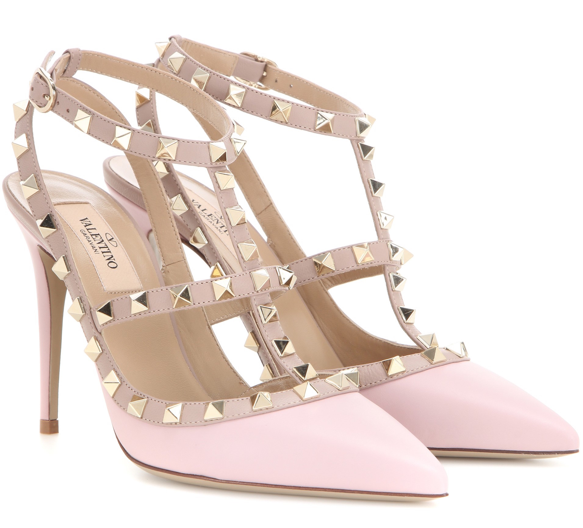 Baby Pink Valentino Shoes