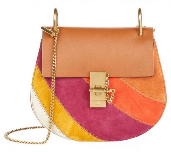 chloe drew rainbow bag