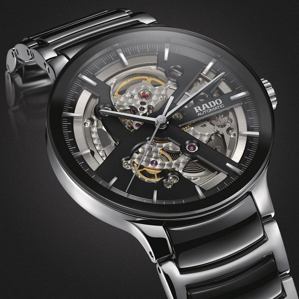 Rado Centrix Skeleton Black Open Heart