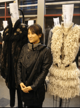Jusil and her designs