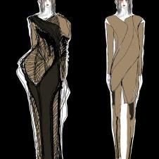 Designs inspired bu Noguchi's sculptures