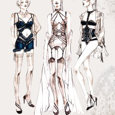 Full Thesis Collection Fashion Illustrations