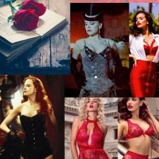 Moulin Rouge Inspiration Board