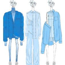 Thesis collection sketches rendered