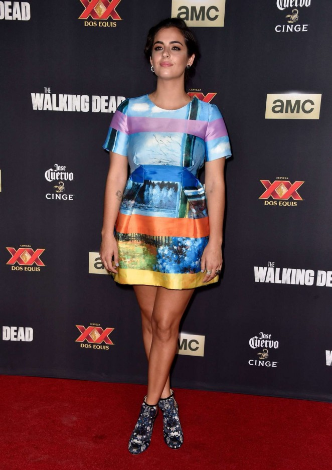 Alanna Masterson The Walking Dead Season 5 Premiere 04 662x937 Alanna Masterson   The Walking Dead' Season 5 LA Premiere