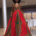 Kyemah mcentyre stuns in african inspired prom gown fashion sizzle