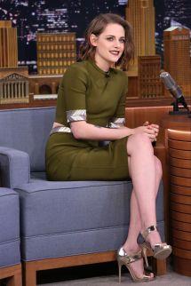 Kristen Stewart In Mugler - Tonight Show Starring
