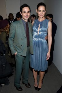 Katie Holmes New York Fashion Week