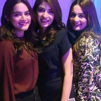 Muneeb Butt, Aiman Khan and Minal Khan Beautiful New Photos of Birthday Party