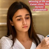 Alia Bhatt Appreciates Catan Game in the Midst of Self-isolate: Photo Circulates Around the Web