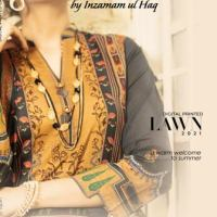 Ameema & Lujain Digital Printed Lawn Collection 2021 of Legends by Inzamam ul Haq - Buy Online - Price Detail