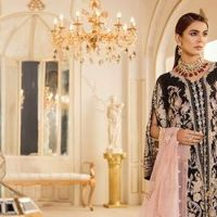 Damask X Rouche Latest Luxury Handwork Formal Collection 2020 for Women and Girls