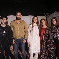 Drama Serial Mera Dil Mera Dushman Amazing Cast Spotted at ARY Festival