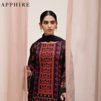 Latest Sapphire Viscose Linen Winter Collection 2021 with Price Buy Online from Sapphire Online Store