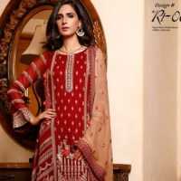 Wijdan Royal Touch Embroidered Chiffon Collection 2021 for Winter By Salams Textile with Price Buy Online