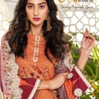 Zara Ali Shahana Spring Summer Lawn Collection 2020 by Magns Textile