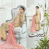 Zebtan Zeenat Collection 2021 Embroidered Chiffon with Price Buy Online