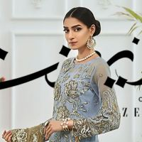 New Zebtan Zeenat Embroidered Chiffon Collection 2020 Price Detail and Buy Online