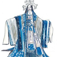 Costumer, Mary Traylor's Turandot Renderings