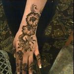 arabic hina design for bride