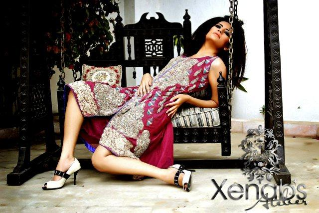 Xenab's Atelier Latest Bridal Wear Formal Dresses Collection (5)