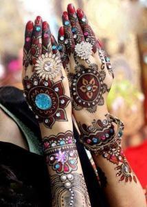 stylish mehndi design