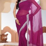 Indian Stylish saree dress for girls (3)