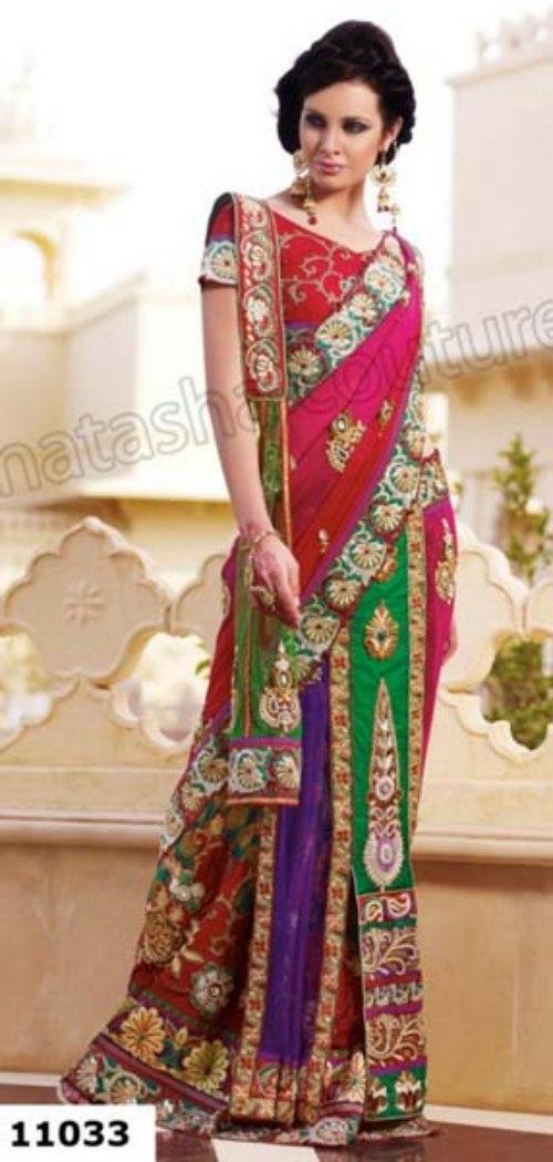 Natasha Couture Trendy Shringaar sarees dress (7)