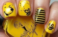 Yellow Nails for women 2013 (5)