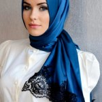 New Arabic Scarf Collection For Girls 2013-2014 (9)