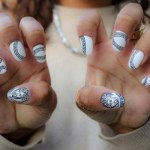 Party nails art designs for girls 2013