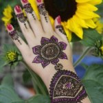 latest chand raat mehndi designs