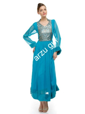 Arzu Gul Gorgeous Party Frocks Collection For Women