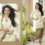 Bismi Boutique New Collecton Printed Dresses Collection 2013-14 (2)