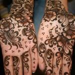 Girls Henna Mehndi Tattoos Designs 2013-2014