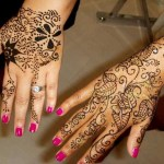 Henna Mehndi Tattoos Designs For Women