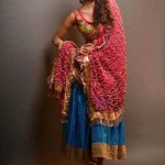 Kuki Concepts Wedding Wear Winter Outfits 2013-2014 For Women (1)