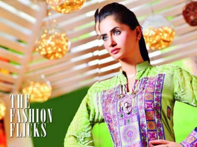 Naqash volume 2 Formal Dresses 2013-14 By Shaista Cloths (14)