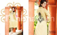 Nishat Linen Frames EMB Zigzag Pret Winter Dresses Collection 2013-14 (1)