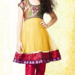 Girls Lovely Frocks Collection Fashion 2014