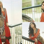 Royal Stylish Ladies Wedding Wear Collection 2014