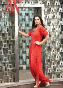 Sania Mirza Photo Shoot Very Hot At JFW Magazine (5)