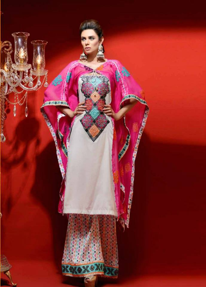 Women Dresses by Hadiqa Kiani Fabric World For Party Wear (3)