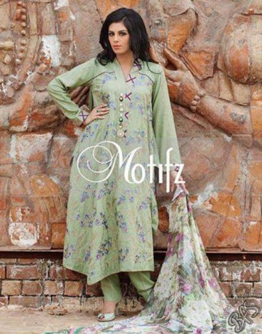 Motifz Casual Dress Collection 2014 for Ladies (5)