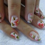 Patels Flower Nail Designs For Christmas Day (5)