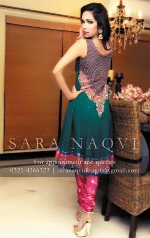 Rangoli Wedding Suits Collection by Sara Naqvi (6)