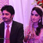 Tv Drama Actor Babar Khan Wedding Pictures with Sana Khan (6)
