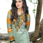 women spring dresses of Aalishan Krinkel by dawood