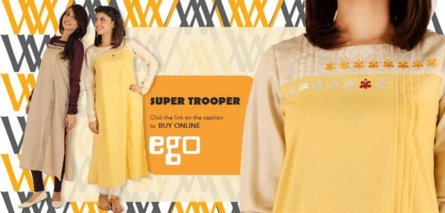 Ego Casual dresses women winter wear collection 2014 (6)